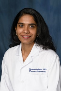 Dr. Saraswathi Gopal, Assistant Professor, Department of Medicine